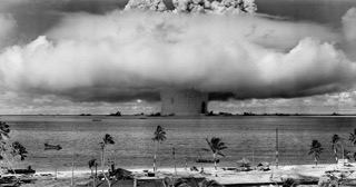 Nuclear weapons test nuclear weapon weapons test explosion.