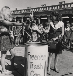 Miss America Protest from 1968. Photo by: Alix Kates Shulman / Wikipedia