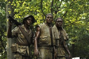 Restoration complete for Vietnam War Memorial statue. Photo by: U.S. Air Force